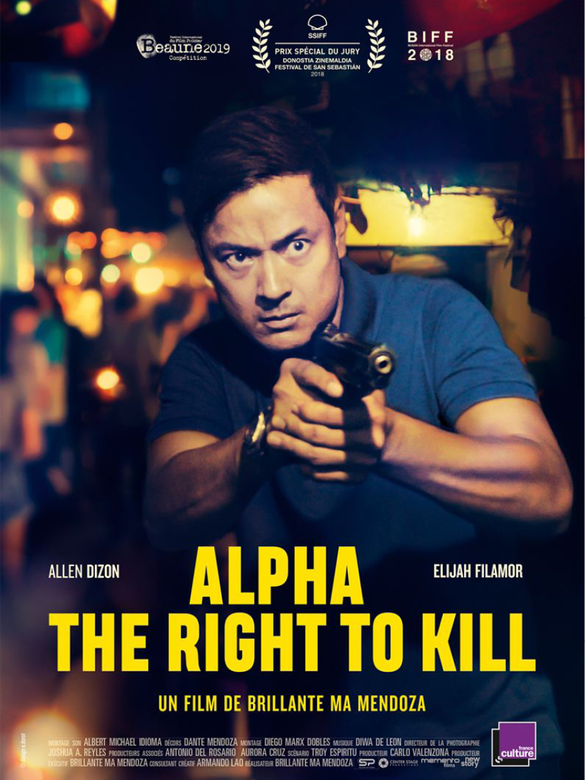 ALPHA THE RIGHT TO KILL